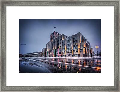 Niagara Mohawk Syracuse Framed Print by Everet Regal