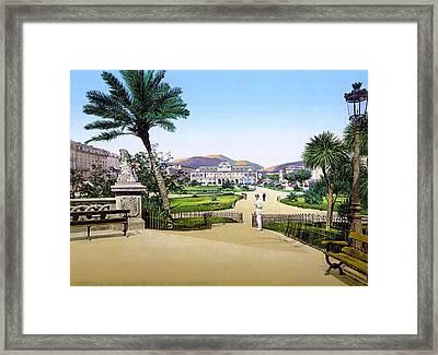 Nice Casino, C1895 Framed Print by Granger