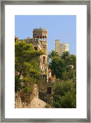 Nice - France - A Multiple Of Facets Framed Print by Christine Till
