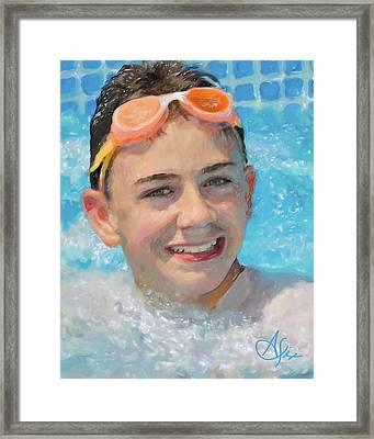 Nick Framed Print by Arthur Fix