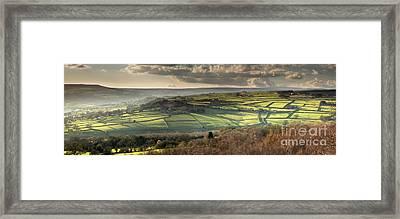 Nidderdale From Brimham Rocks Framed Print by John Potter