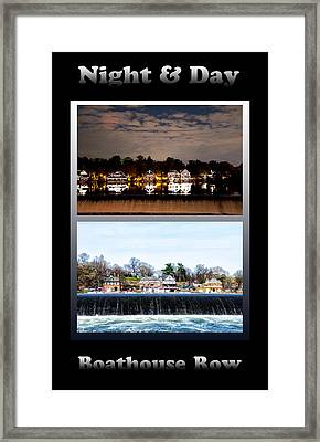 Night And Day Framed Print by Bill Cannon