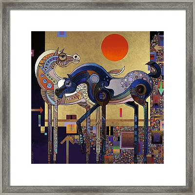 Night And Day Framed Print by Bob Coonts