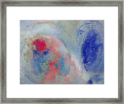 Night And Day Framed Print by Odilon Redon