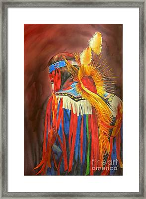 Night Dancer Framed Print by Robert Hooper