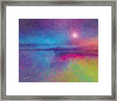 Night Dream Framed Print by The Art of Marsha Charlebois