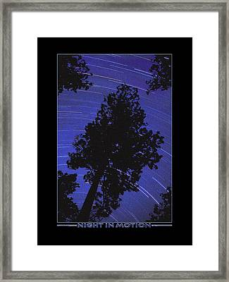 Night In Motion Framed Print by Mike McGlothlen