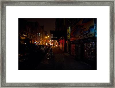 Night In New York City Framed Print by Vivienne Gucwa