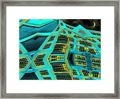 Night In This House Framed Print by Wendy J St Christopher