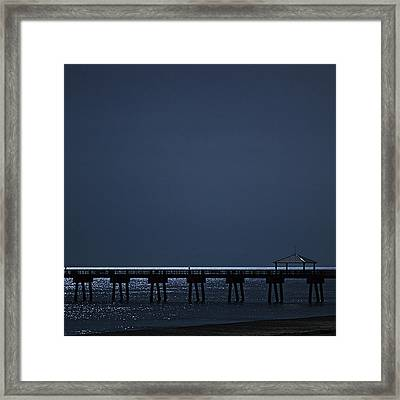 Night Influence Framed Print by Laura Fasulo