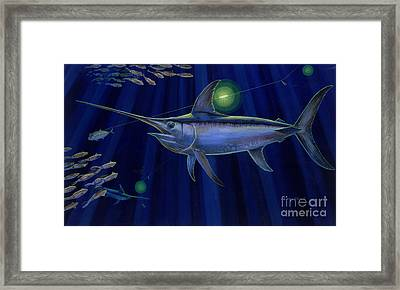 Night Life Off0026 Framed Print by Carey Chen