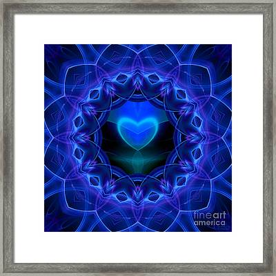 Night Love Gift Framed Print by Hanza Turgul