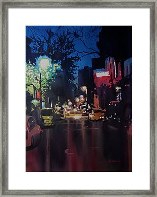 Night Moves  Framed Print by Kris Parins