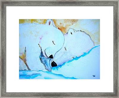 Night Night Framed Print by Debi Starr