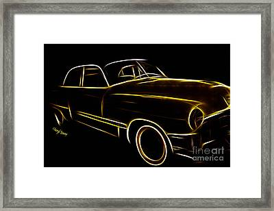 Night Rider Framed Print by Cheryl Young