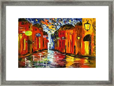 Night Scent Framed Print by Mariana Stauffer