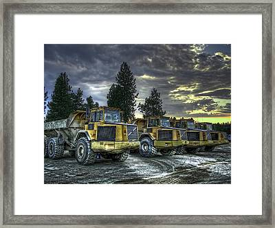 Night Shift Framed Print by Daniel Hagerman