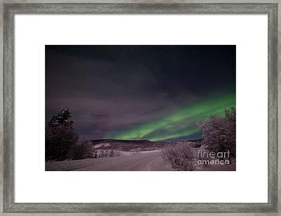 Night Skies Framed Print by Priska Wettstein