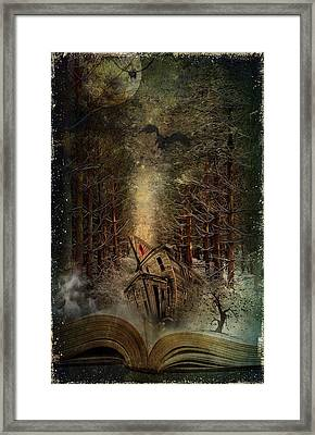 Night Story Framed Print by Svetlana Sewell