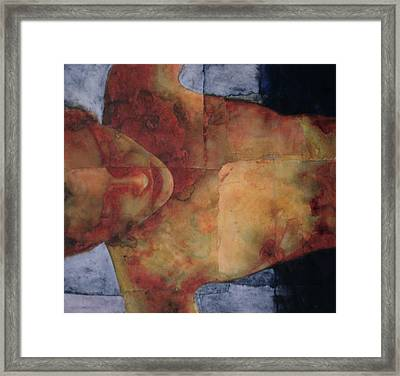 Night Swimming Framed Print by Graham Dean