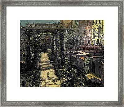 Night Framed Print by Terry Reynoldson