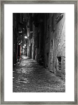 Night-time Framed Print by Marion Galt