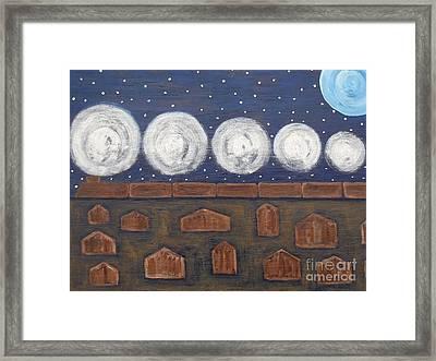Night Train Framed Print by Patrick J Murphy