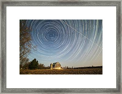 Night Vision Framed Print by Matt Molloy