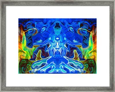 Night Watchers Framed Print by Omaste Witkowski