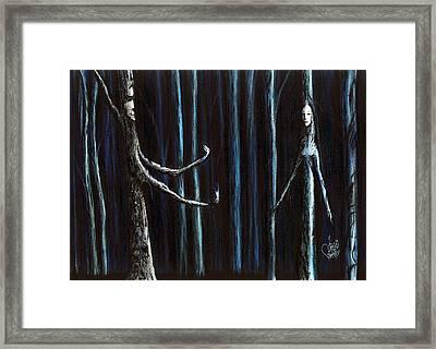 Nightfall Secret Framed Print by Danielle R T Haney