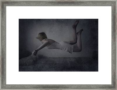 Nightmare Framed Print by Anca Magurean