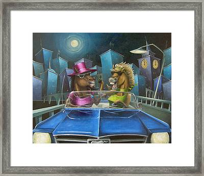 Nightmares Framed Print by Eva Folks
