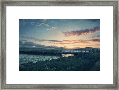 Nights Like These Framed Print by Laurie Search