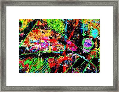 Nighttown Jazz  I Framed Print by John  Nolan
