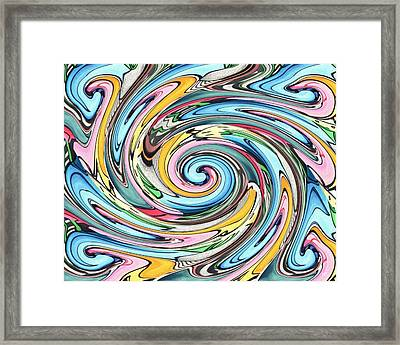 Nine Into One Framed Print by Helena Tiainen