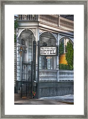 Nine O Five Royal Framed Print by Brenda Bryant