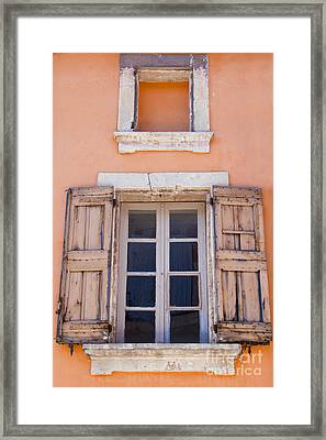 Nine Panes Minus One Framed Print by Bob Phillips