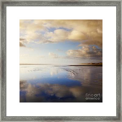 Ninety Mile Beach Northland New Zealand Framed Print by Colin and Linda McKie