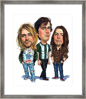 Nirvana Framed Print by Art