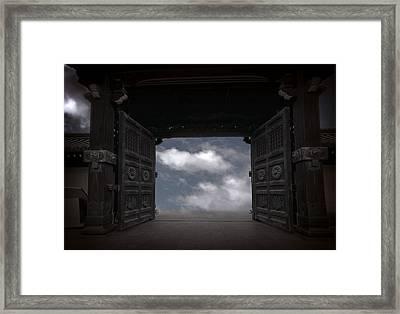 Nirvana Gate Framed Print by Daniel Hagerman