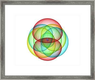 Nitrogen Framed Print by Roger Harris