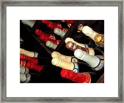 Nj Winery  Framed Print by Barbara Giuliano