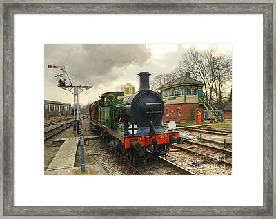 No 263 At Horsted Keynes  Framed Print by Rob Hawkins