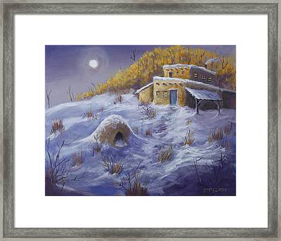 No Bread Today Framed Print by Jerry McElroy