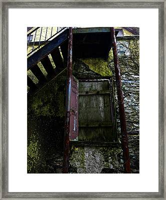 No Entry Framed Print by Richard Reeve