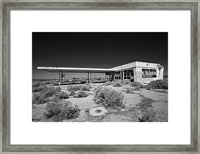 No Gas Framed Print by Peter Tellone