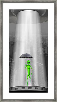 No Intelligent Life Here Framed Print by Mike McGlothlen