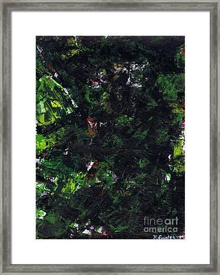 No Leaf Clover - Right Framed Print by Kamil Swiatek