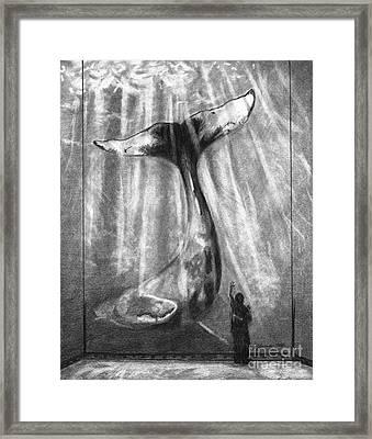 No Matter How Small Framed Print by J Ferwerda