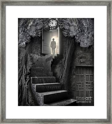No More Lies Framed Print by Keith Kapple